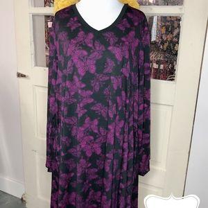 Lularoe 3XL Emily Swing Dress
